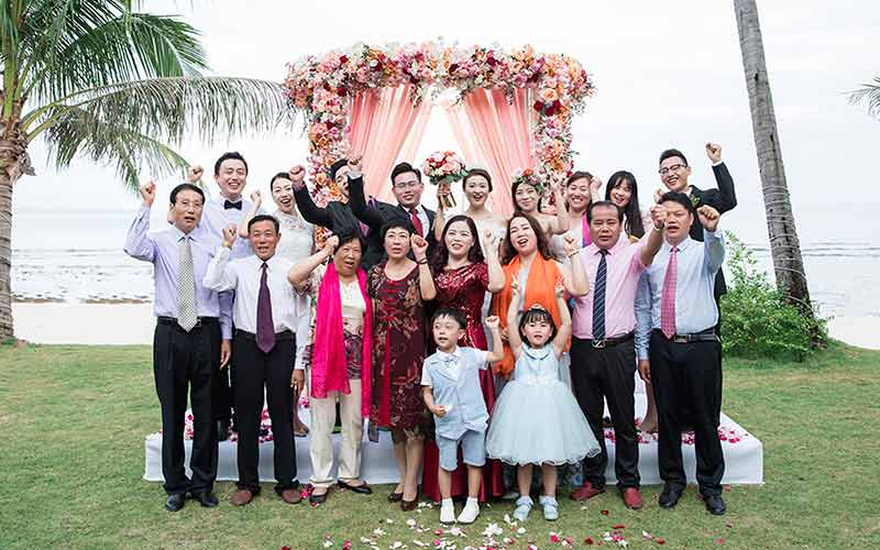 traditional modern chinese wedding phuket cape panwa 43