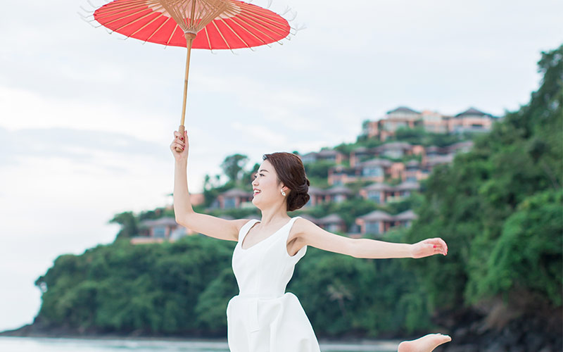 traditional modern chinese wedding phuket cape panwa 45