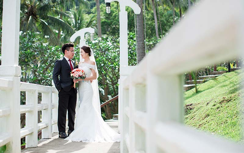 traditional modern chinese wedding phuket cape panwa 8