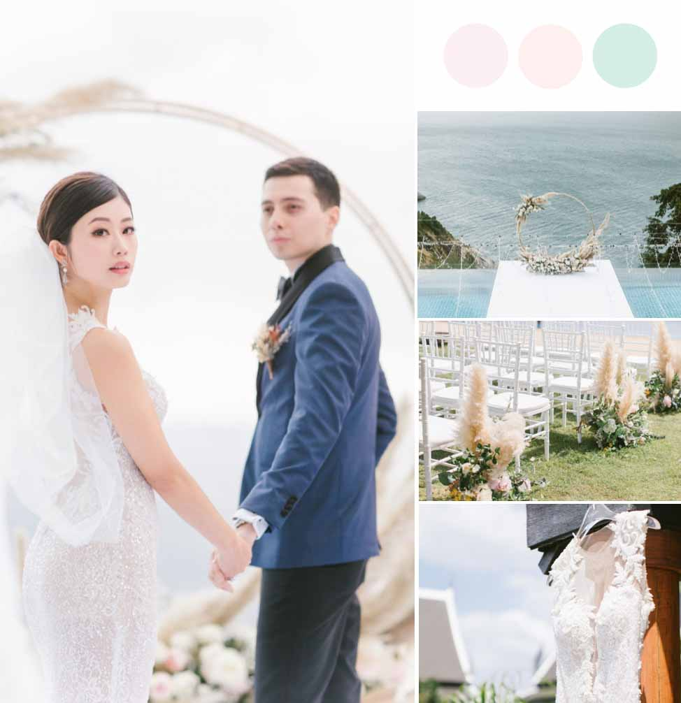 This Popular YouTuber's Phuket Wedding Took Place During COVID-19 [Villa Aye]