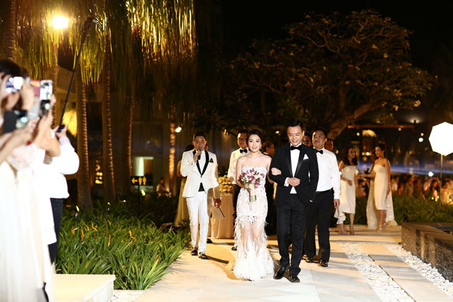 Felicia Wedding Venue The Royal Santrian Villas Bali March In 1