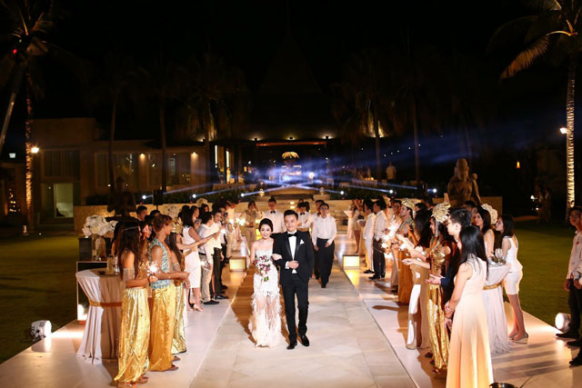 Felicia Wedding Venue The Royal Santrian Villas Bali March In 4