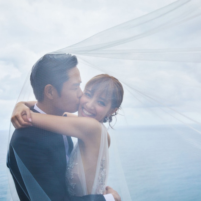 Former Miss Hong Kong, Grace Chan & Actor, Kevin Cheng's Wedding at The Bvlgari Resort Bali