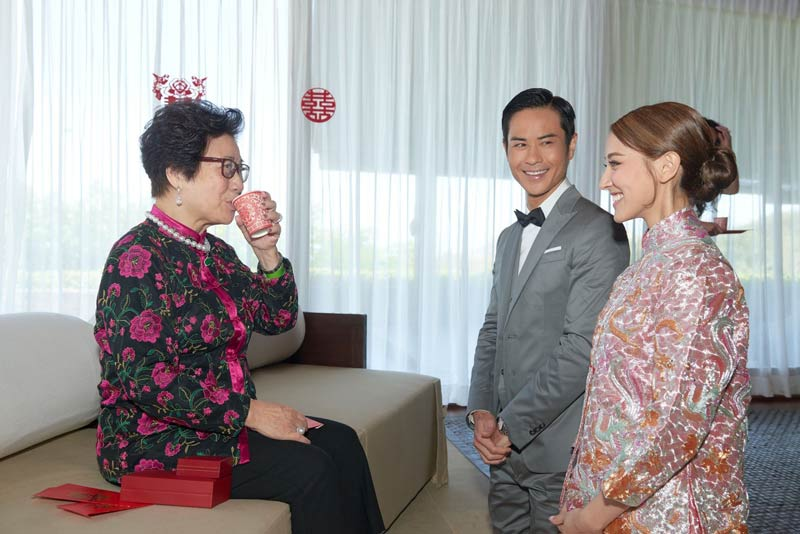 Grace Chan Kevin Cheng The Bvlgari Resort Bali Wedding Chinese Tea Ceremony 1