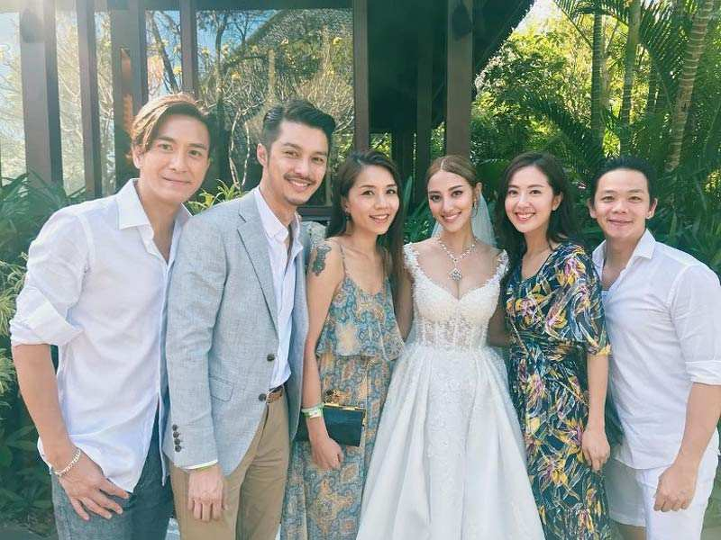 Grace Chan Kevin Cheng The Bvlgari Resort Bali Wedding Dress Noel Chu Atelier 2