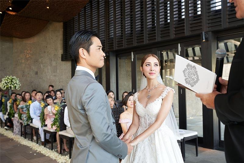 Grace Chan Kevin Cheng The Bvlgari Resort Bali Wedding The Chapel 1