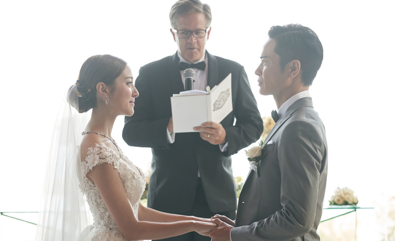 Grace Chan Kevin Cheng The Bvlgari Resort Bali Wedding The Chapel 2