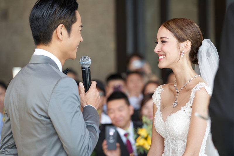 Grace Chan Kevin Cheng The Bvlgari Resort Bali Wedding The Chapel 3