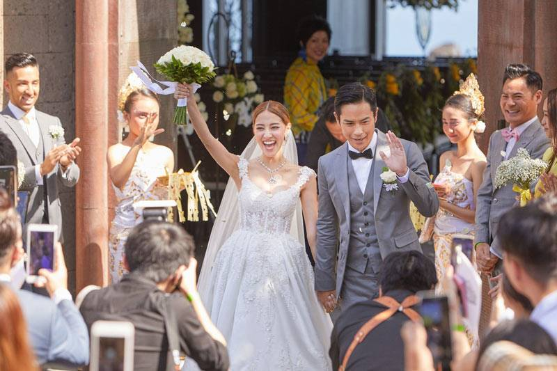 Grace Chan Kevin Cheng The Bvlgari Resort Bali Wedding The Chapel 4
