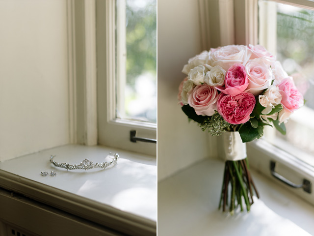 Grace Yulin Toronto Wedding Story Peonies Bouquet Bridal Accessories