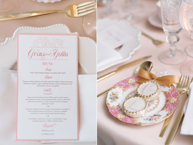 Grace Yulin Toronto Wedding Story Tableware Plate Occasions 6