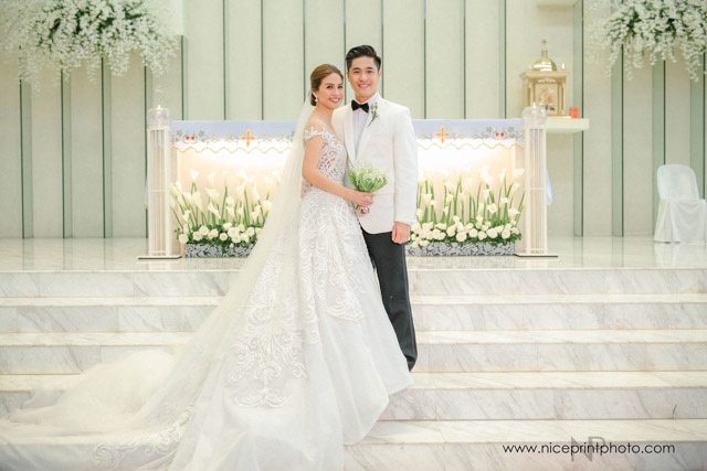 Neri naig wedding dress