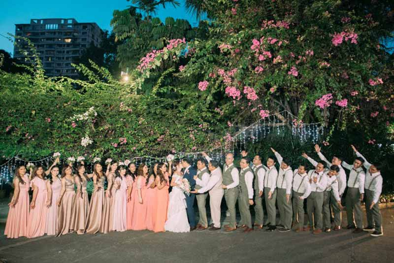 Sampaguita Gardens Manila Wedding Ceremony Reception Dinner Filipino Traditions Bridal 38