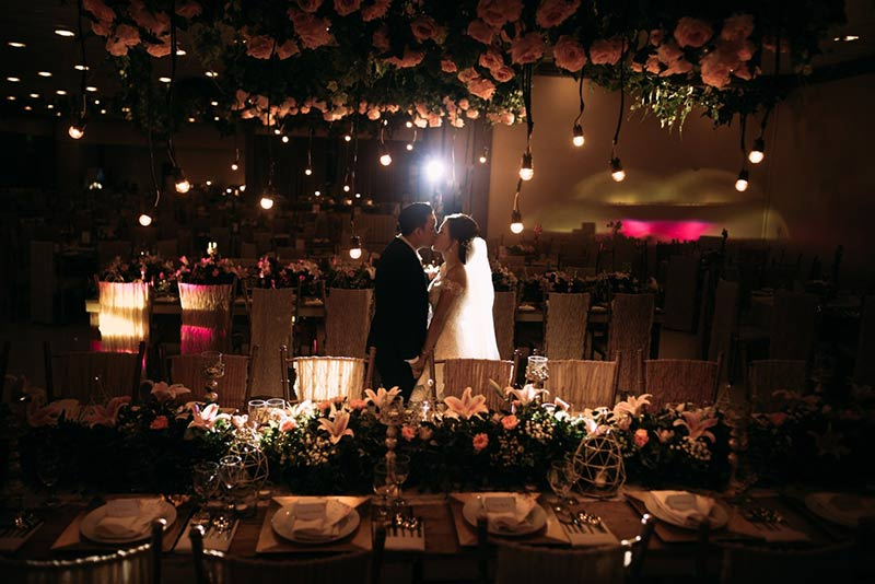 Sampaguita Gardens Manila Wedding Ceremony Reception Dinner Filipino Traditions Bridal 40