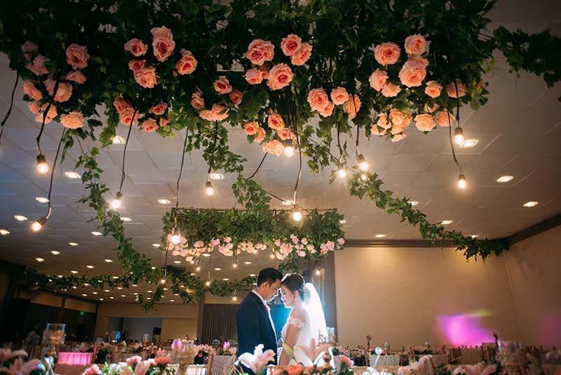 Sampaguita Gardens Manila Wedding Ceremony Reception Dinner Filipino Traditions Bridal 45
