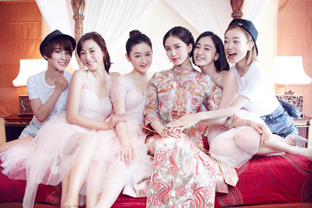 Chinese star Angelababy marries in spectacular wedding ...
