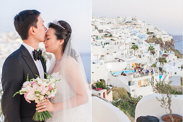 Luna Kevin Santorini Wedding Bride Groom Photographer Roberta Facchini 16
