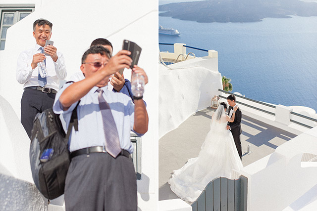 Luna Kevin Santorini Wedding Bride Groom Photographer Roberta Facchini 3