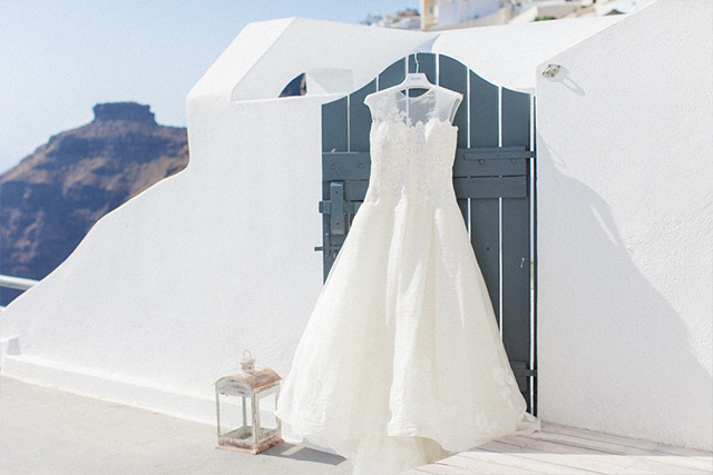Luna Kevin Santorini Wedding Dress Kleinfeld Bridal Photographer Roberta Facchini 1
