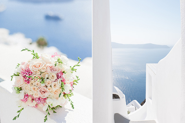 Luna Kevin Santorini Wedding Venue Sun Rocks Hotel Photographer Roberta Facchini 3