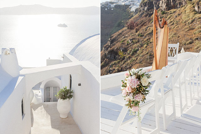 Luna Kevin Santorini Wedding Venue Sun Rocks Hotel Photographer Roberta Facchini 4