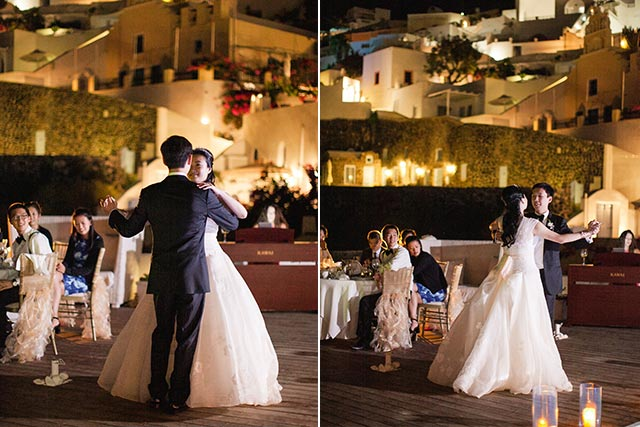 Luna Kevin Santorini Wedding Venue Sun Rocks Hotel Photographer Roberta Facchini 7