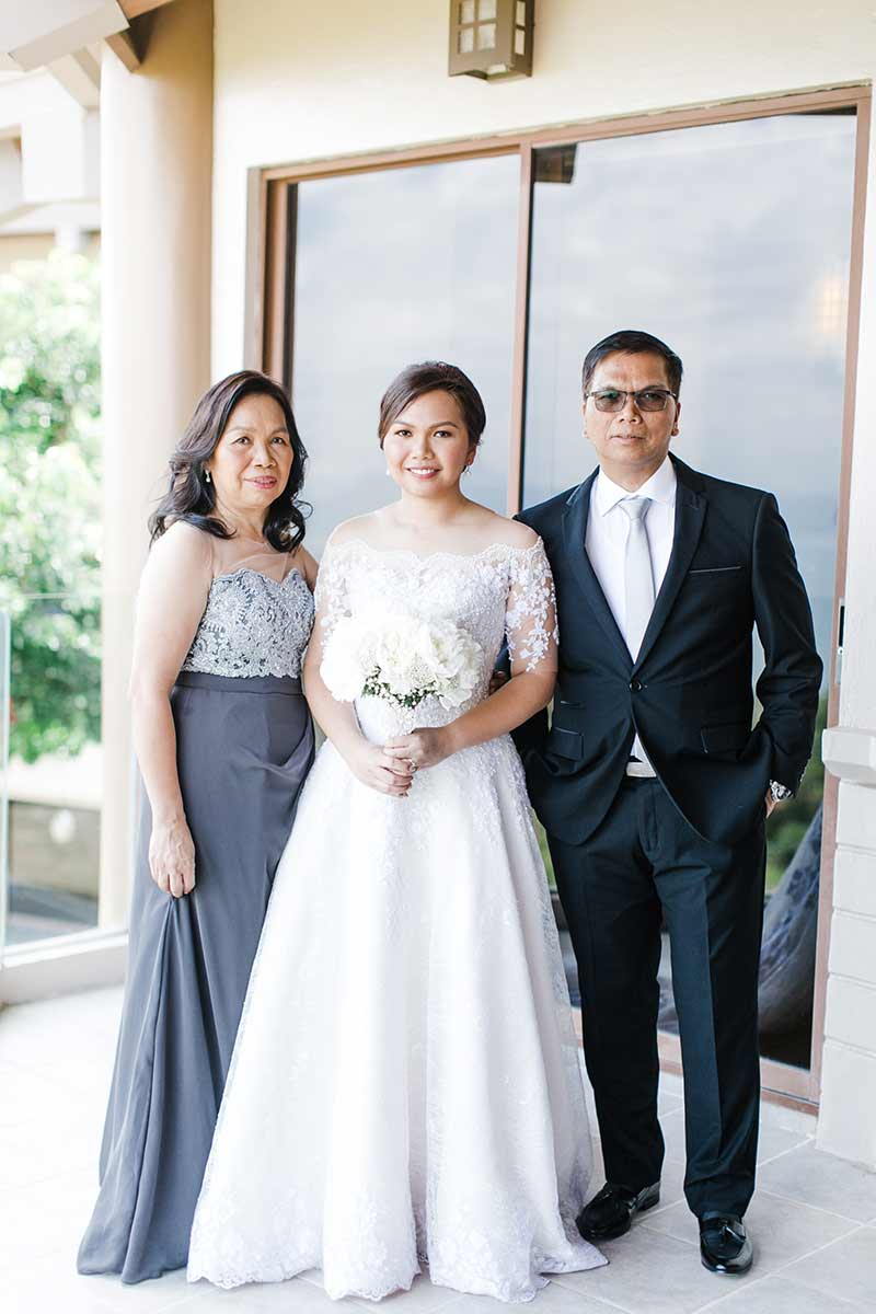 Manila Green White Garden Wedding 4