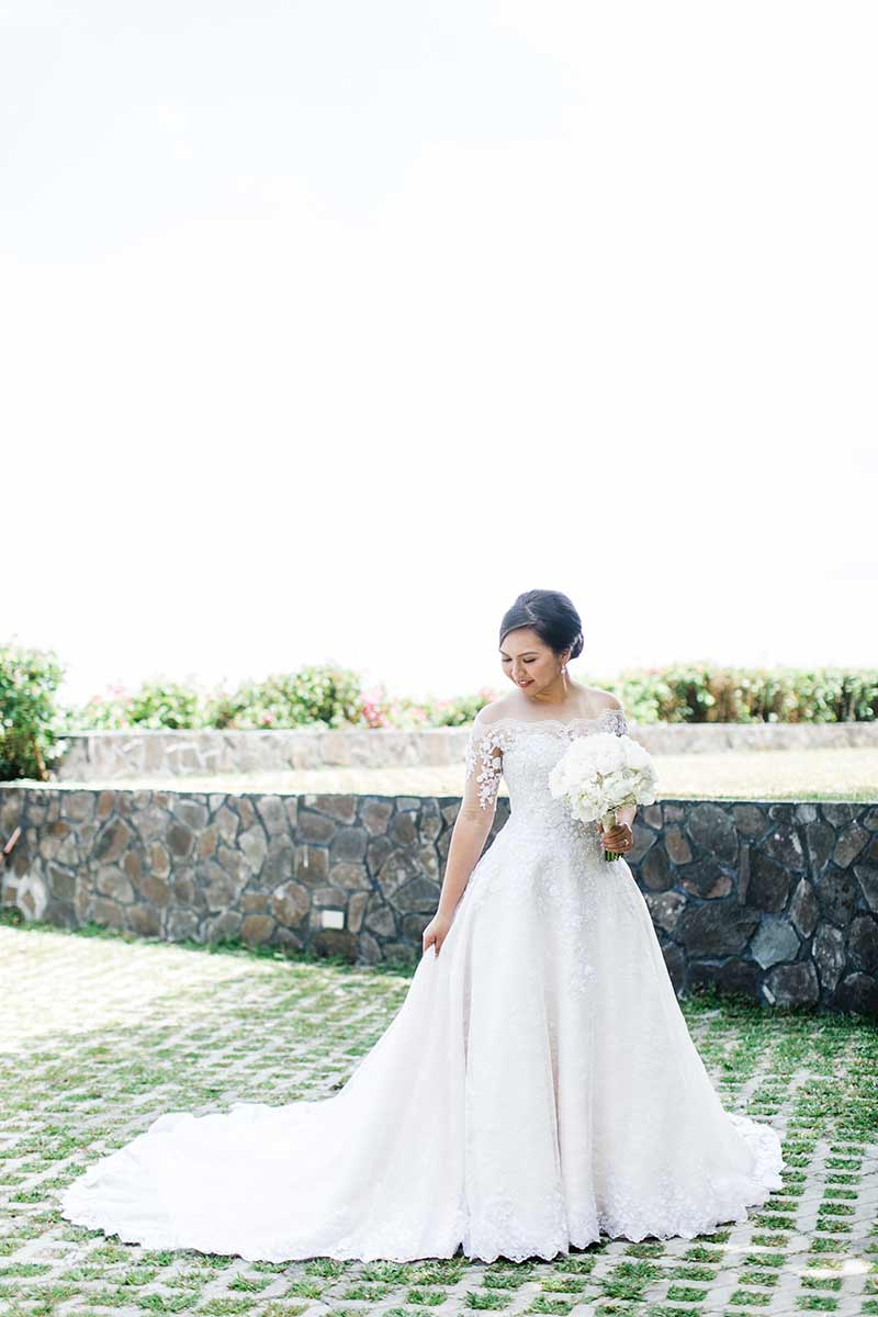 Manila Green White Garden Wedding 6