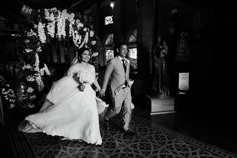 Manila Green White Garden Wedding 31
