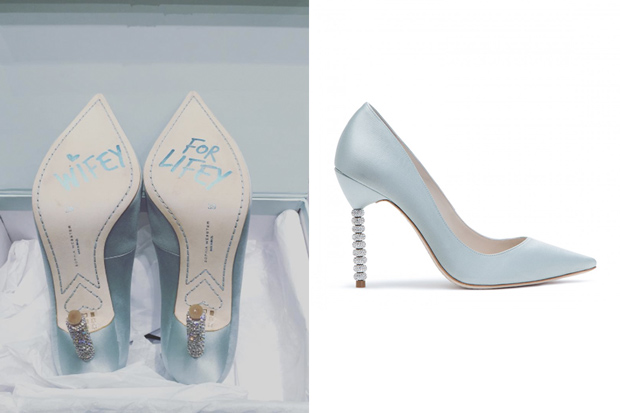 Hong kong actress myolie wu philip lee at the ritz for Sophia webster wedding shoes