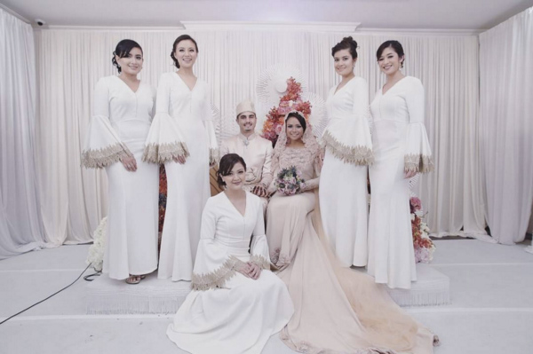 Nadiah M Din And Bilal Jeanpierre Wedding Solemnization Ceremony The Colonial At Scotts Singapore 10