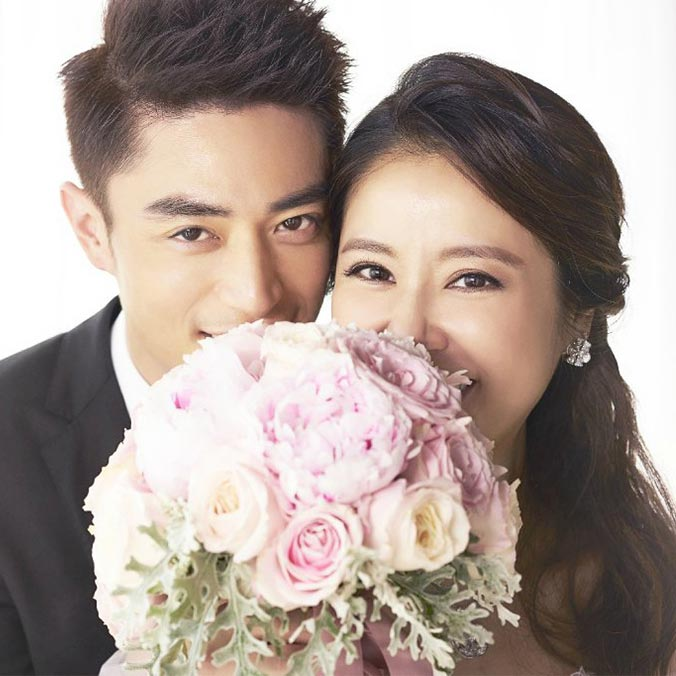 Taiwanese Actress, Ruby Lin & Actor, Wallace Huo at Bulgari Resort, Bali