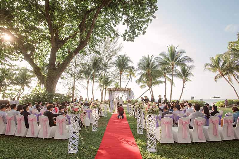 Shangrila Rasa Sayang Resort Wedding Ceremony Bridal Reception Beach Venue 23
