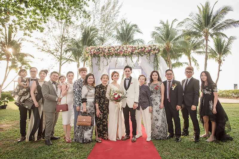 Shangrila Rasa Sayang Resort Wedding Ceremony Bridal Reception Beach Venue 33