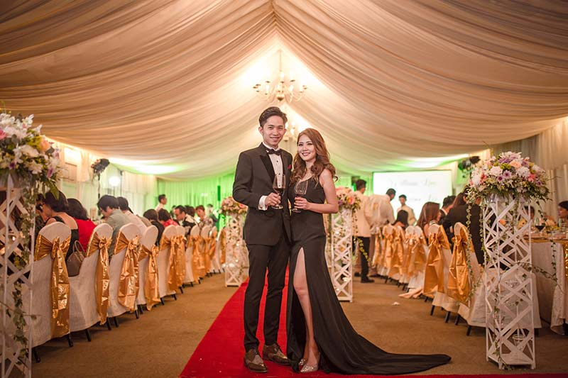 Shangrila Rasa Sayang Resort Wedding Ceremony Bridal Reception Beach Venue 46