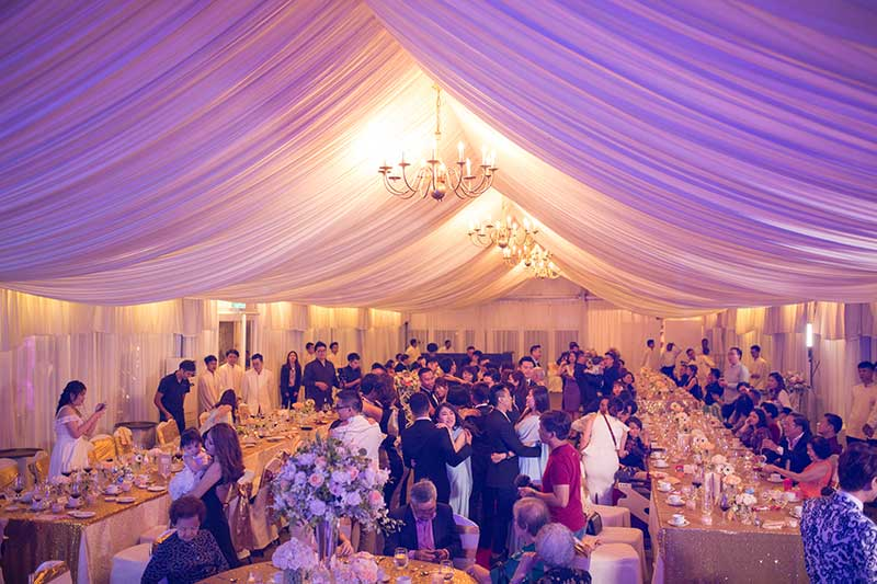 Shangrila Rasa Sayang Resort Wedding Ceremony Bridal Reception Beach Venue 47