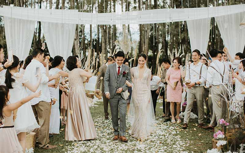 forest earth toned wedding theme ideas 13