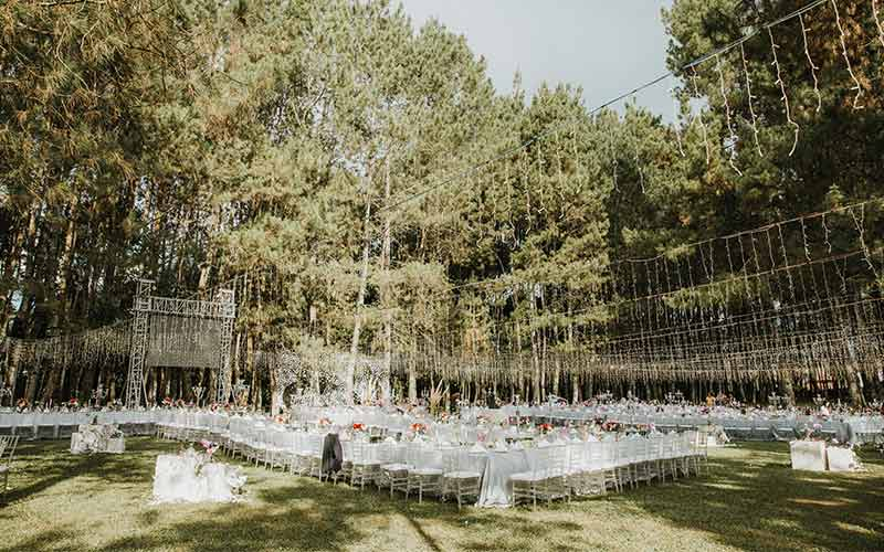forest earth toned wedding theme ideas 15