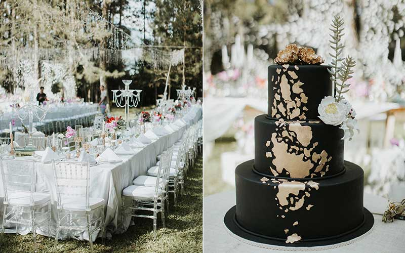 forest earth toned wedding theme ideas 18