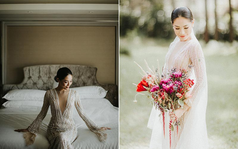 forest earth toned wedding theme ideas 2
