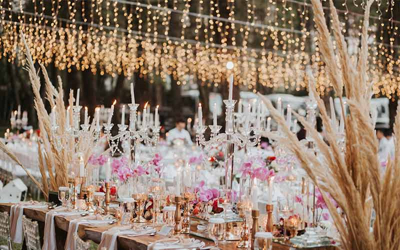 forest earth toned wedding theme ideas 22