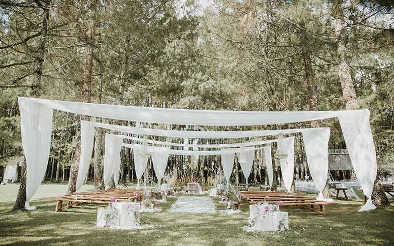 forest earth toned wedding theme ideas 4