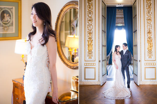 Paris Real Wedding Story Banquet Venue Bride and Groom 2