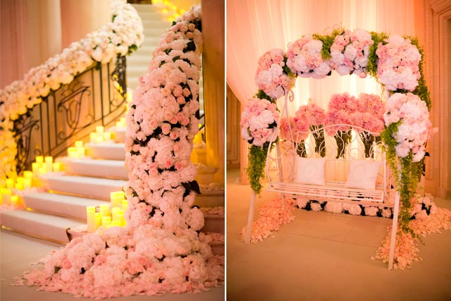 Paris Real Wedding Story Banquet Venue Decorations