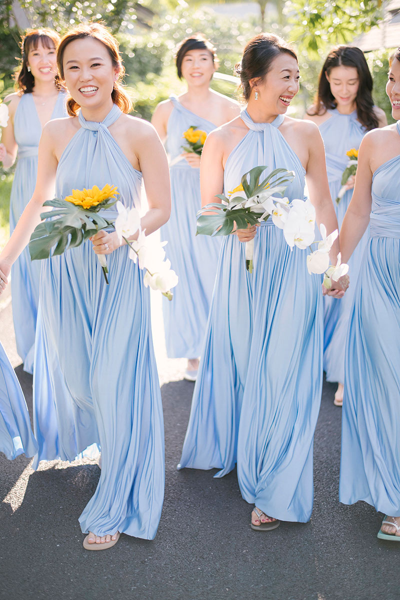 Sunflower Barefoot Beach Wedding 13