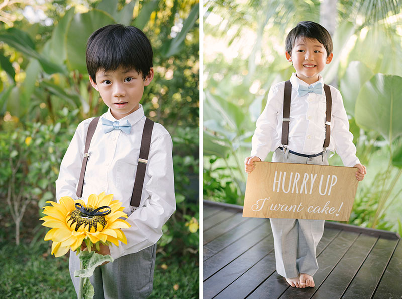 Sunflower Barefoot Beach Wedding 15
