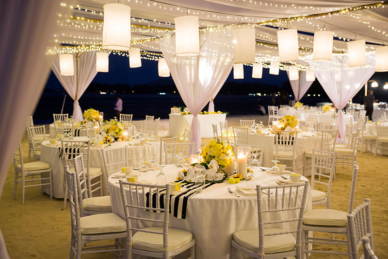 Sunflower Barefoot Beach Wedding 36