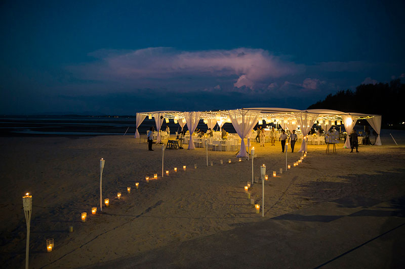 Sunflower Barefoot Beach Wedding 37
