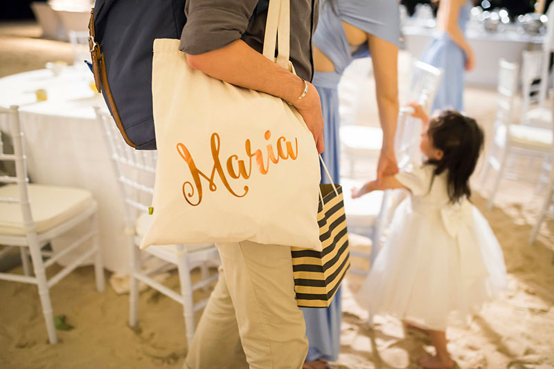 Sunflower Barefoot Beach Wedding 40