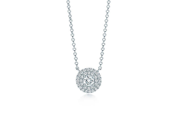 Sunny Wang Dominique Tsai Bridal Accessories Tiffany and Co Soleste Pendant 1